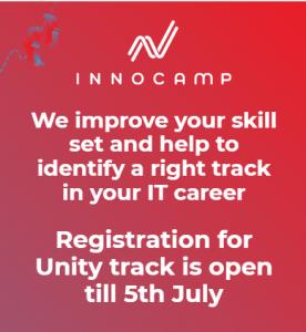 Разработка игр на Unity: курс от InnoCamp by Innovecs