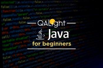 Курс Java for beginners